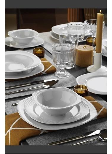 Kütahya Porselen Kütahya porselen çisil yemek takımı seti 24 prç. 6 kişilik Renkli